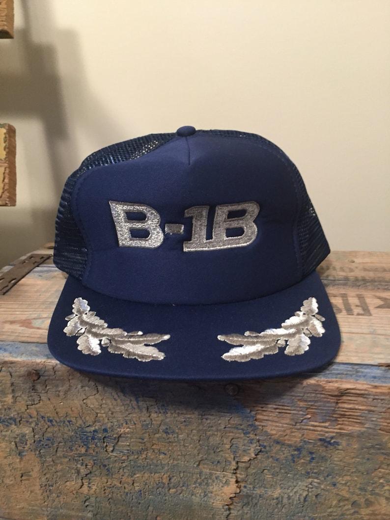 44eb44736a8 Rare    B-1B snapback hat   rockwell B-1 lancer    fighter jet