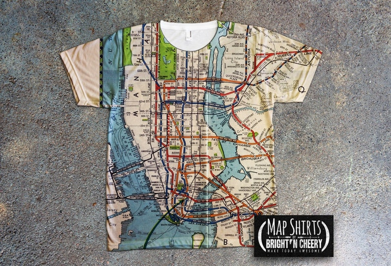 Vintage 1939 NYC Subway Map Shirt, all over print tee, MTA tshirt, on map of the cis, map of the nyc, map of the washington metro, map of the jfk airport, map of the mbta, map of the long island railroad, map of the green line, map of the amtrak, map of the federal reserve, map of the anglican communion, map of the j train, map of the new york city subway, map of the cta,