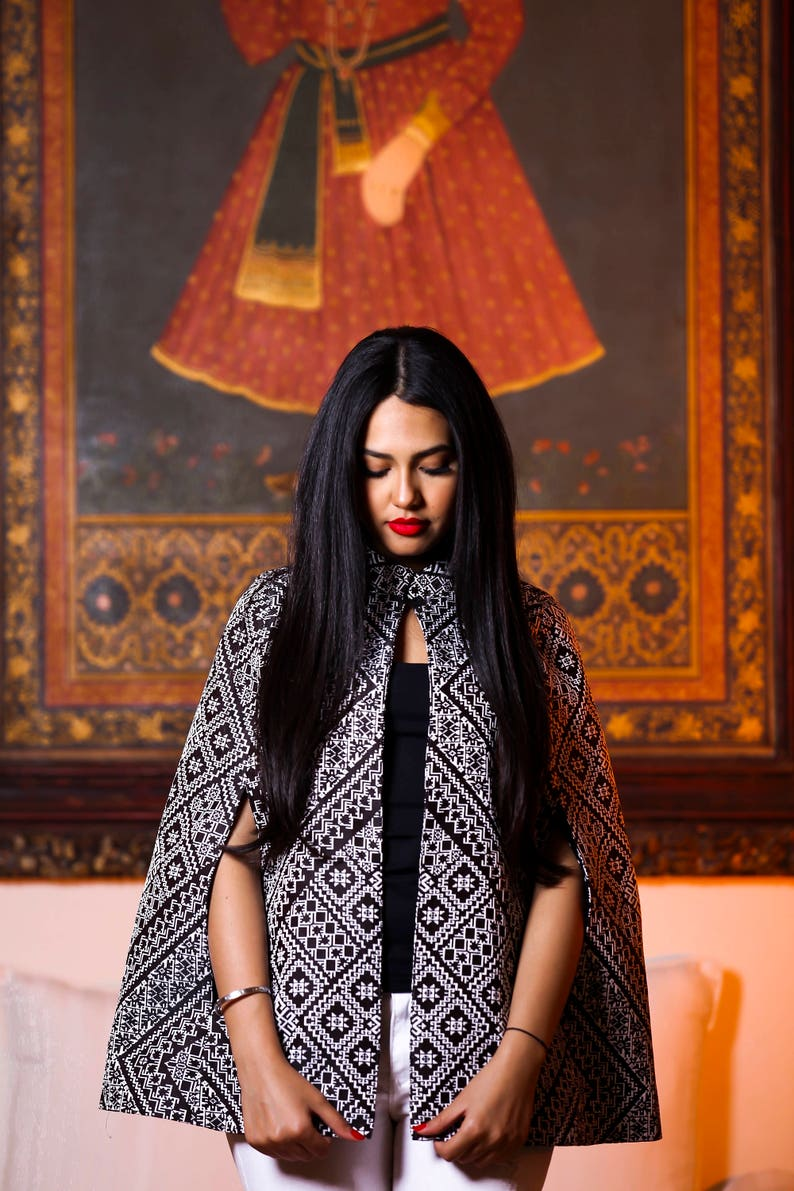 d7305b2be1 Amira Cape Moroccan Clothing Jacket Bohemian style chic Cloack