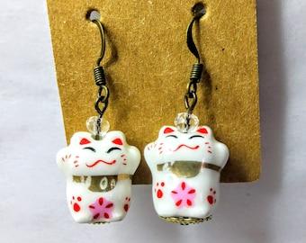 Maneki-Neko Earrings