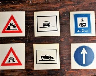 Man Cave Road Signs : Metal stop sign road traffic octogon urban wall art mancave