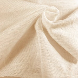 two 50W x 84L panels Chevelle ecru taupe and white cotton slub Pair trellis