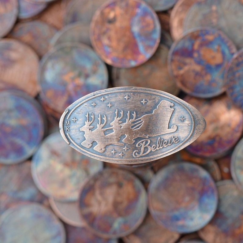 Believe in Santa Pressed Penny