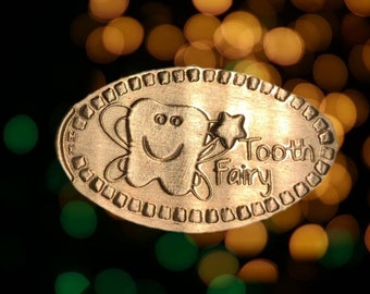 Unique Tooth Fairy Gift • Copper • Tooth Fairy Collection • Tooth Fairy • Pressed Penny