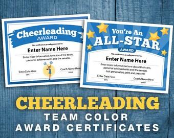 baseball certificates 21 editable team awards printable etsy