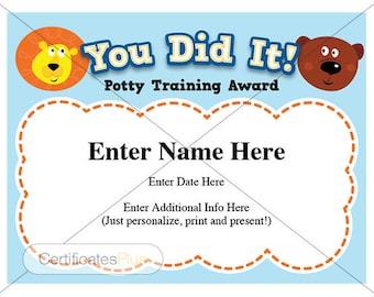 piano recital certificate piano award printables child etsy