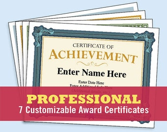 Business certificates award certificate templates employee professional certificates pack certificate of appreciation of recognition certificate of completion certificate cheaphphosting Images