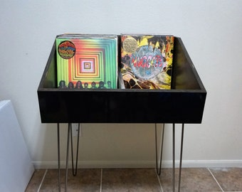 Vinyl Record Storage Stand and Display | Holds 250 LP's | Kallax Alternative