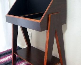 Vinyl Record Storage Stand and Display | Holds 400 LP's | Kallax Alternative
