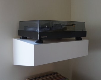 Record Player Wall Mount Platform | Turntable Shelf