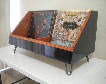Vinyl Record Storage Stand and Display | Holds 130 LP's | Kallax Alternative