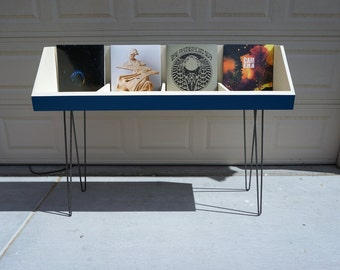 Vinyl Record Storage Stand and Display | Holds 260 LP's | Kallax Alternative