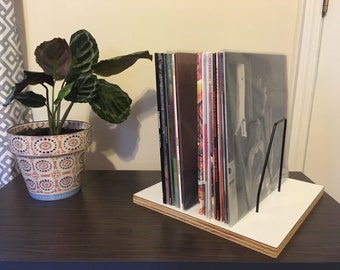Tabletop Vinyl Record Holder and Display