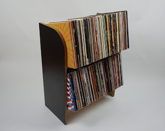 Vinyl Record Storage Bookshelf | Holds 300 LP's | Kallax Alternative