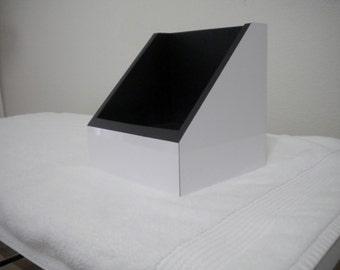 White Gloss 7'' Vinyl Display | 45 holder