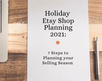 Etsy Seller Holiday Checklist for New Shop Owners