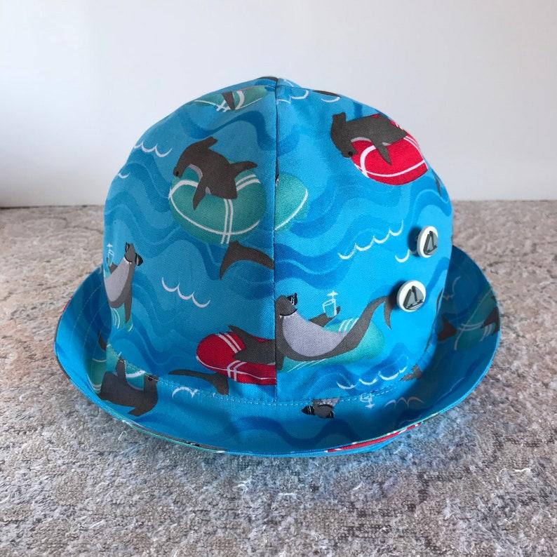 7f2f81dbc71413 Children Bucket Hat Baby Bucket Hat Child Sun Hat Shark | Etsy