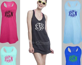 892bf032d8b3c Monogram Swim Coverup - Bathing Suit Cover Up - Swimsuit CoverUp -  Monogrammed Dress - Monogram Dress - Monogram Swimsuit Cover Up - Chest