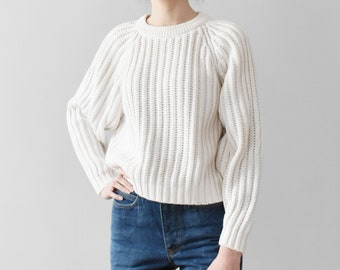 6e0a4daa4190 Cotton knit sweater