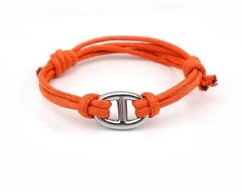 bcc9208f09 Bracelet inspiration Hermès acier inoxydable