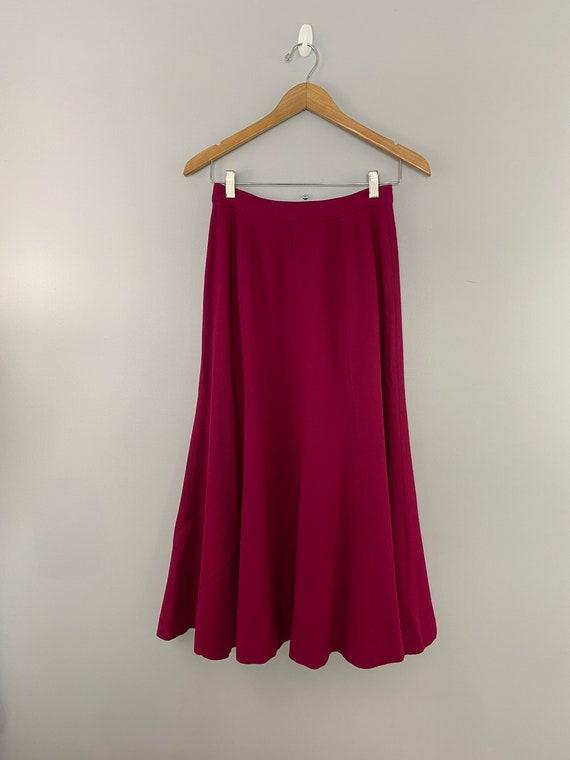 Vintage Talbots Wool Maxi Skirt - image 1