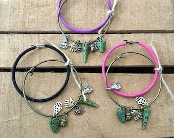 Budah Charm bracelet set of 2