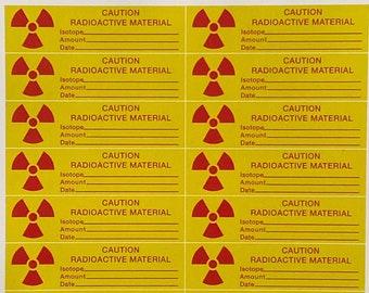 Back to the Future - Plutonium Fuel Rod Decals