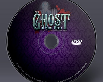 Halloween Projection Effect DVD - Ghost of Rona Marie