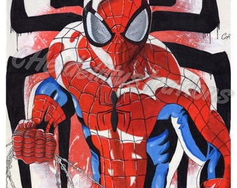 Spiderman giclee print