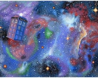 The Doctor 14x20 giclee print