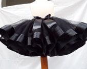 Black Tutu Skirt for Toddler. Baby girl tutu. Toddler girl outfit. Birthday party outfit. Black tutu dress baby. Toddler girl tutu