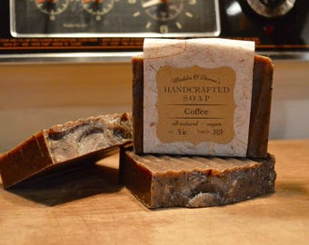Coffee Handcrafted Cold Process Soap