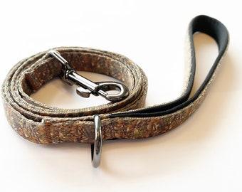 Realtree Camo Custom Nylon Dog Leash w/ Doggy Bag Clip!