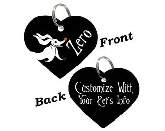 Disney Zero Double Sided Custom Pet Id Tag for Dogs & Cats Personalized for your Pet