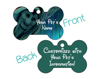 Grandmother Willow | Disney Pocahontas | Double Sided Pet Id Dog Tag | Personalized for Your Pet