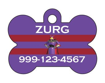 Disney Toy Story Emperor Zurg Custom Pet Id Dog Tag Personalized w/ Name & Number