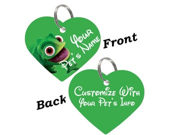 Disney Pascal Double Sided Pet Id Tag for Dogs & Cats Personalized for Your Pet