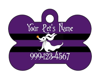 Disney Zero Pet Id Dog Tag Personalized w/ Your Pet's Name and Number