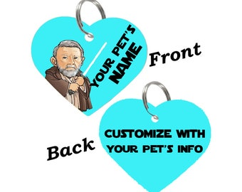 Disney Star Wars Obi Wan Kenobi Double Sided Pet Id Tag for Dogs & Cats Personalized for Your Pet