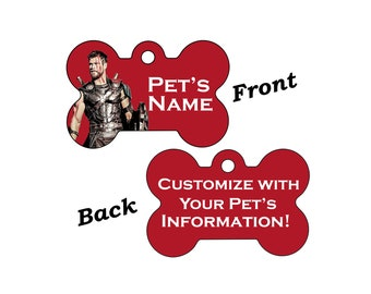 Disney Thor Double Sided Pet Id Dog Tag Personalized for your Pet