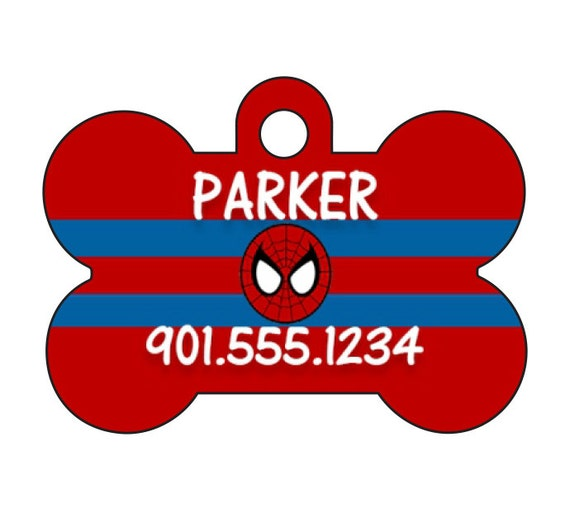 Disney Captain America Custom Pet Id Dog Tag Personalized w// Name /& Number