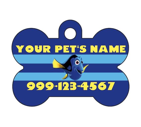 Etiqueta de identificación de mascotas Personalizados-ID Tag-Dog Tag-Pet Tag-Honey Bee tema