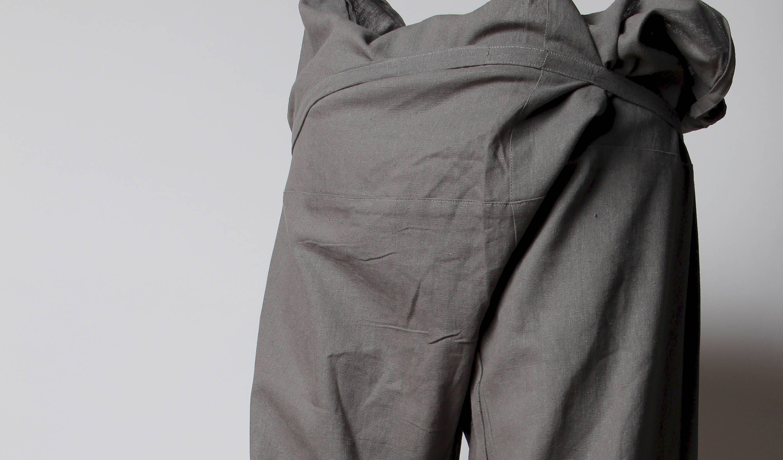 wrap pants, thai fisherman pants, shanti, yoga, fisherman, fishermen trousers, thailand, green fisherman pants, mens yoga pant, cotton pants