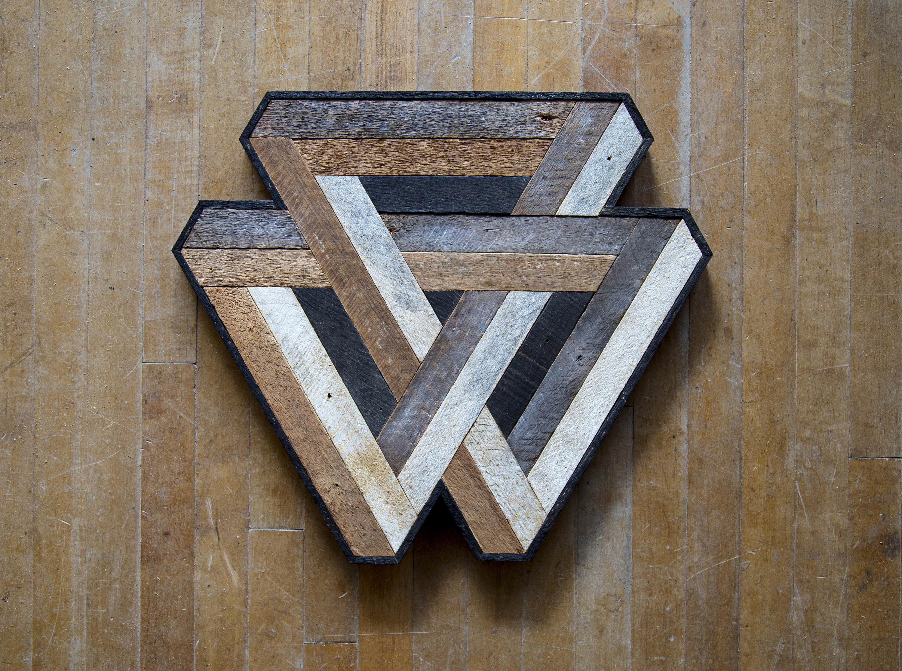 Reclaimed Wood Wall Art Wood Decor Reclaimed Wood Wood Art