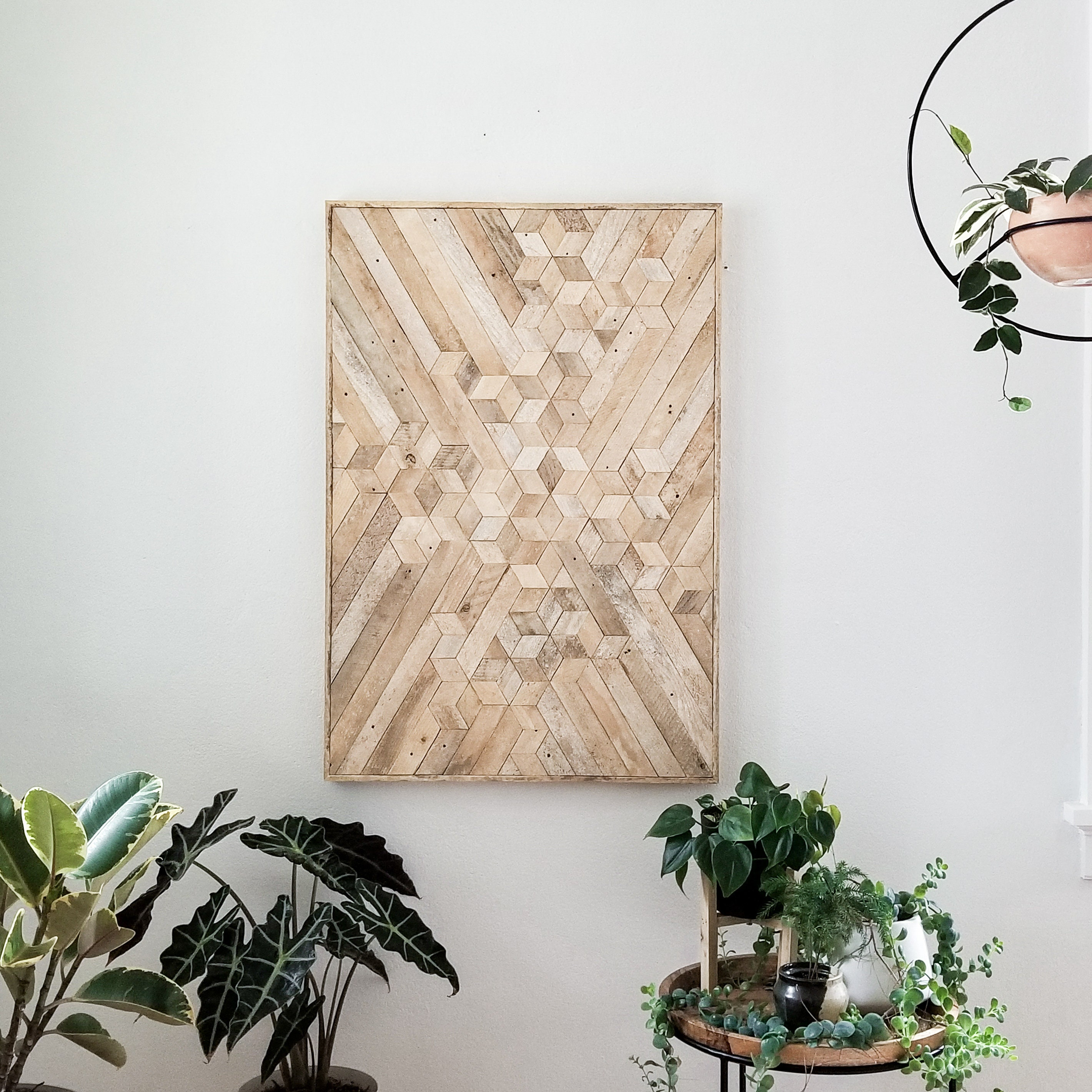 Reclaimed Wood Wall Art | Wood Wall Art | Wood Decor ...