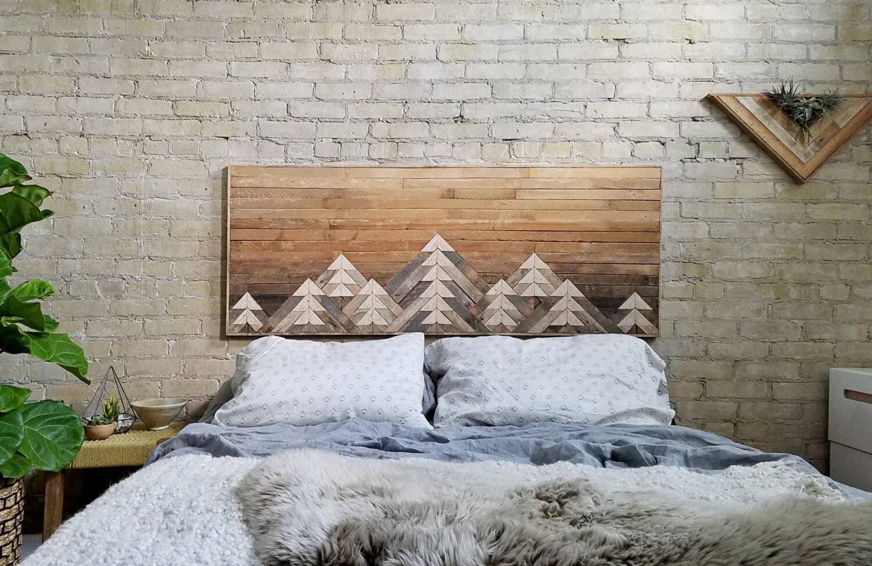 Reclaimed Wood Wall Art | Wall Decor | Wood Art | Queen ...