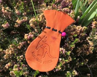 Kangaroo Scrotum Large with Stamp #353