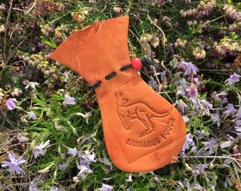 Kangaroo Scrotum Gift / Large with Stamp #343