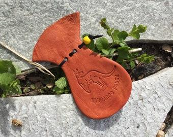 Kangaroo Scrotum / Gift / Large with Stamp #338