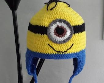 fleece lined minion Hat